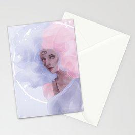 Bubble gum Garnet Stationery Cards