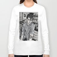 alex turner Long Sleeve T-shirts featuring Alex Turner tattoo by vooce & kat