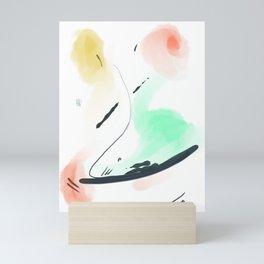 Abstract sunrise S3 Mini Art Print