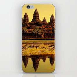 Ankor Wat iPhone Skin