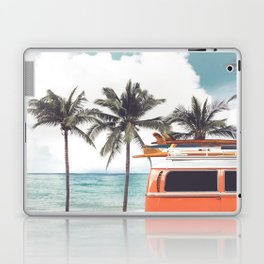 Red surf van Laptop & iPad Skin