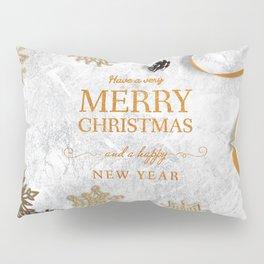 Merry Christmas Creative Craft Greeting Pillow Sham