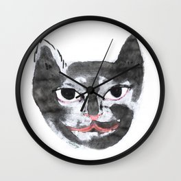 Black Cat or Panther Wall Clock