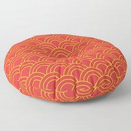 Sunset and Sunrise Floor Pillow