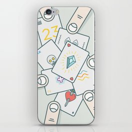 It Wasn't In the Cards iPhone Skin