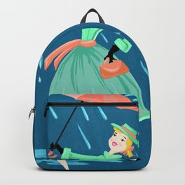 April Showers Bring May Flowers Backpack