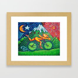 Bicycle Day Framed Art Print