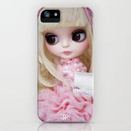 Erregiro Blythe Custom Doll Japanese Lolita Girl Kumiko iPhone Case