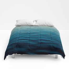 Sunset Blue Comforters