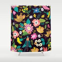 The floral floresta Shower Curtain