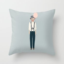 I'm here for the Throw Pillow
