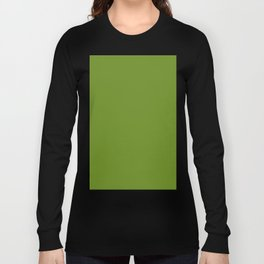 color olive drab Long Sleeve T-shirt