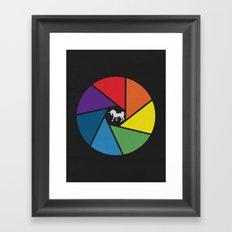 Capture The Unicorn Framed Art Print
