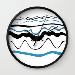 waves that i love Wall Clock