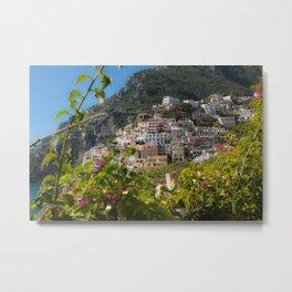 Sweet Positano Italy Metal Print