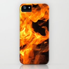 Fire Demon iPhone Case