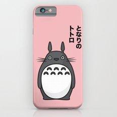 Totoro Pop Art - Pink Version iPhone 6 Slim Case