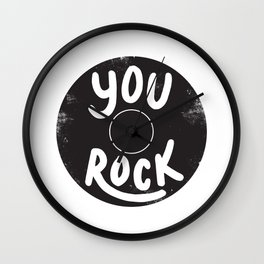 Vinyl Love Wall Clock