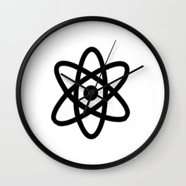 Atom Matter Smallest Unit Ordinary Chemical Element Plasma Wall Clock
