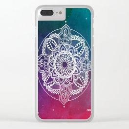 Confidence Zendala ''Starry Sky'' Clear iPhone Case