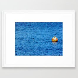Buoy Framed Art Print