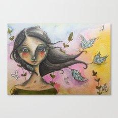 Farrah Canvas Print