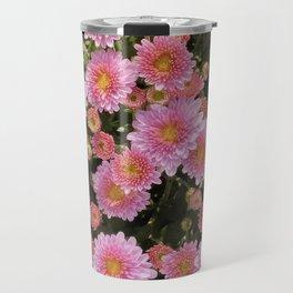 Bellis Perennis, Beautiful Pink Daisy Travel Mug