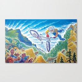 Crankworx Canvas Print