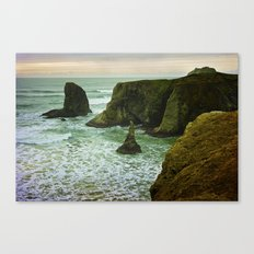Pacific Northwest Coast Canvas Print