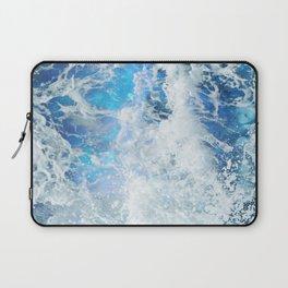 Blue Ocean Glow Laptop Sleeve