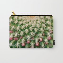 Cactus close-up shot, natural abstract background Carry-All Pouch