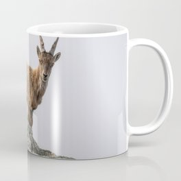 Wild Alpine Ibex Coffee Mug