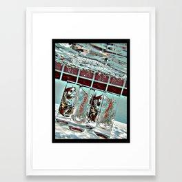 Ed Hardy Shots Framed Art Print