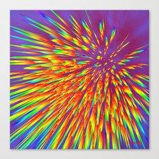 Reaction Canvas Print