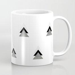 Arrows Collages Monochrome Pattern Coffee Mug