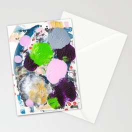 Art abstract Stationery Cards