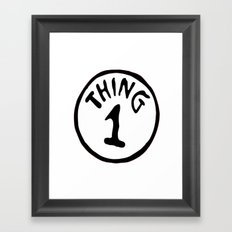 thing 1  Framed Art Print