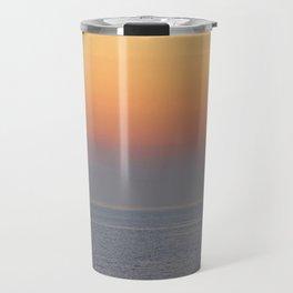 sunset by the sea Travel Mug
