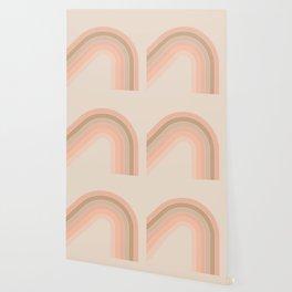 Soft Light Corner Bow Wallpaper