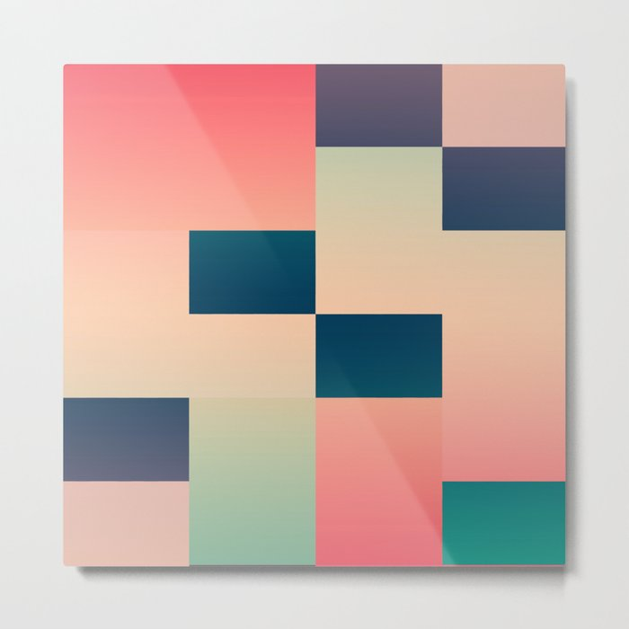 Abstract Summer #society6 #decor #buyart Metal Print
