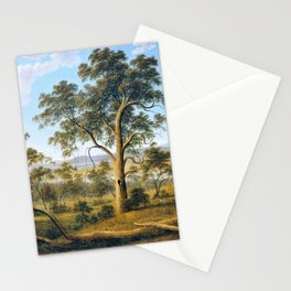 Launceston And The River Tamar - John Glover Stationery Cards