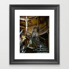 Daydream in Stairway West Framed Art Print