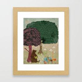 Storytime Framed Art Print