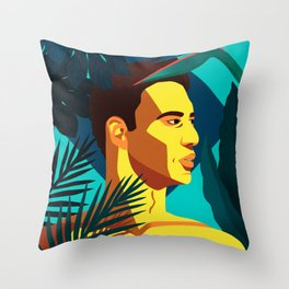 Everblue Throw Pillow