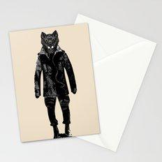DapperWolf Stationery Cards