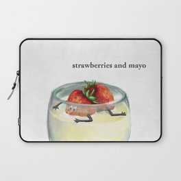La Cuisine Fusion - Strawberries with Mayo Laptop Sleeve