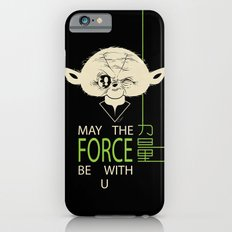 Starwars Yoda - May The Force Be With U iPhone 6s Slim Case