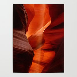 Marvelous Antelope Canyon Colors Poster