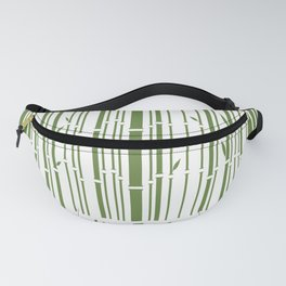 Bamboo Barcode Fanny Pack