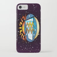astrology iPhone & iPod Cases featuring Astrology, Aquarius by Karl-Heinz Lüpke